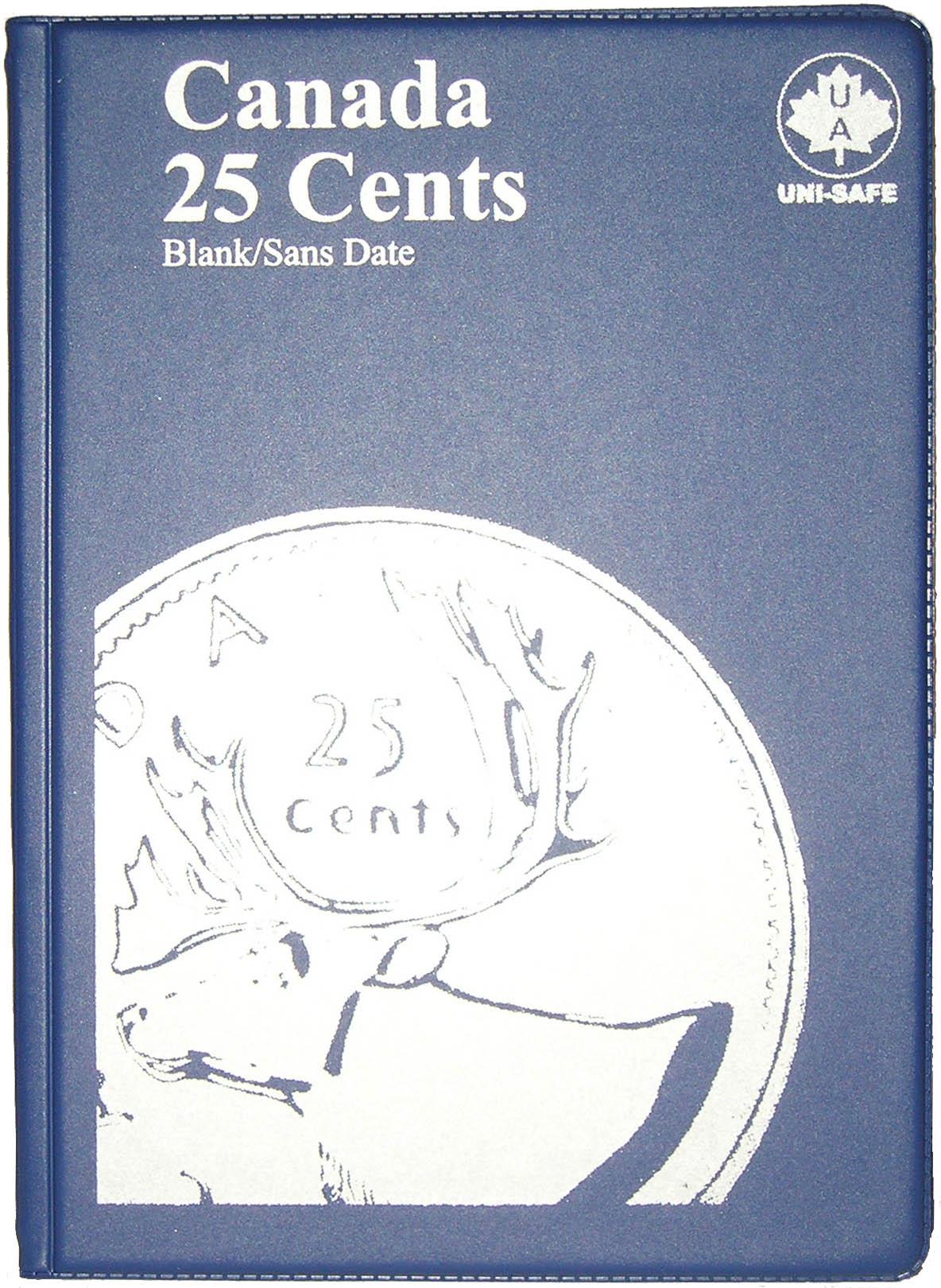 No Date 10 Uni-Safe Canadian Canada 1 Cent Penny Coin Album Folder Blank