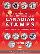 2018 Unitrade Specialized Catalogue of Canadian Stamps